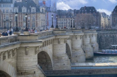 The Pont Neuf I by Cora Niele art print