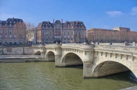 The Pont Neuf II by Cora Niele art print