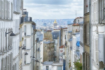 View Over Paris From 'La Butte' by Cora Niele art print