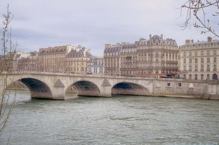 View Over The Seine by Cora Niele art print