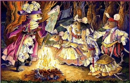 Gypsy Mice by David Galchutt art print