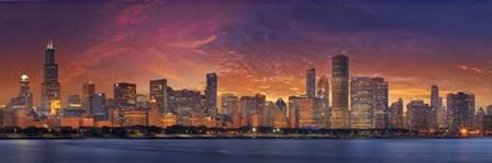 Chicago by Doug Cavanah art print