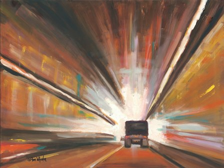 Tunnel Vision by Eve Wheeler art print