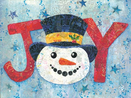 Snow Joyous by Lisa Morales art print