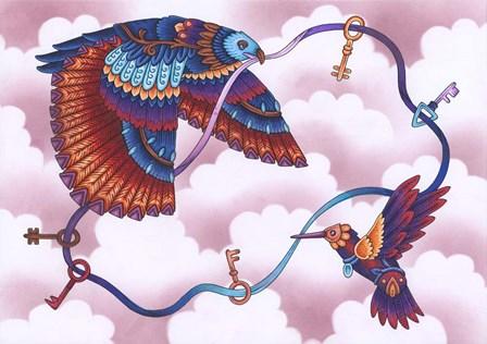Animals Lovers - Birds by Filippo Cardu art print