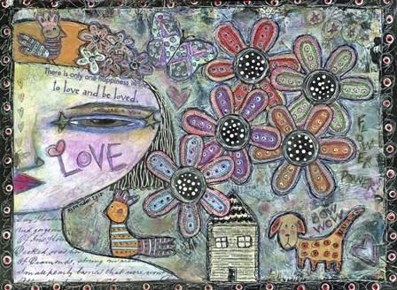 Flower Power by Funked Up Art art print