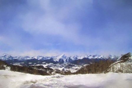 Overlooking The Mountains Of Colorado by Jai Johnson art print