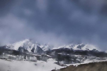 Winter Impressions In Colorado 4 by Jai Johnson art print
