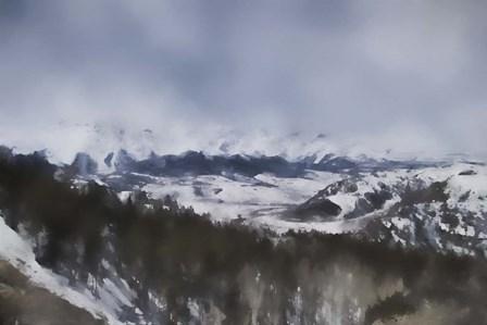 Winter Impressions In Colorado 6 by Jai Johnson art print