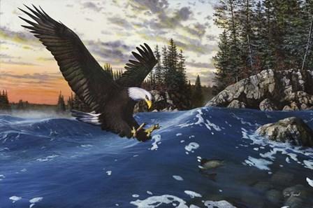 Endangered Moment by Jim Hansel art print