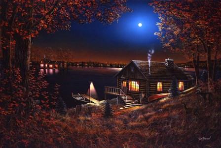 Evening Serenity by Jim Hansel art print