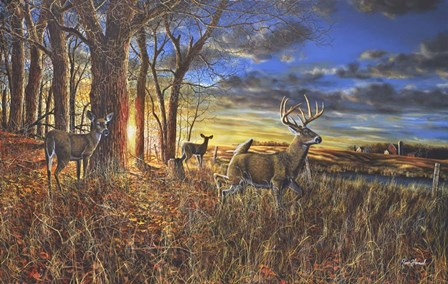 Out For The Evening by Jim Hansel art print