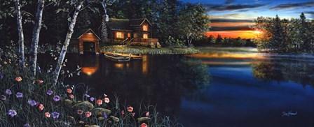 Summer Evening by Jim Hansel art print