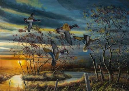 Autumn Splendor by Jim Hansel art print