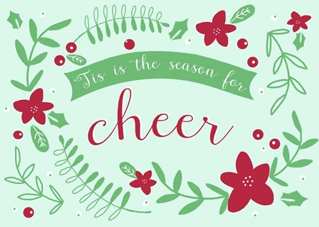 Season for cheer by Jyotsna Warikoo art print