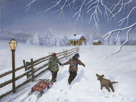 Home at Last by Kevin Dodds art print