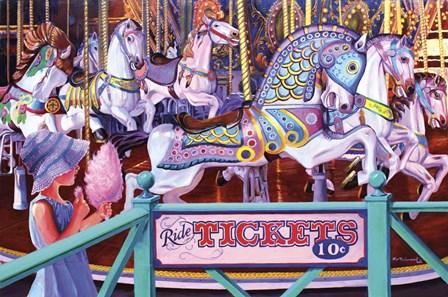 Cotton Candy by Kip Richmond art print
