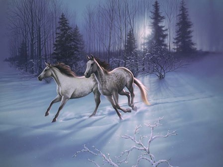 Winter Evening by Kirk Reinert art print