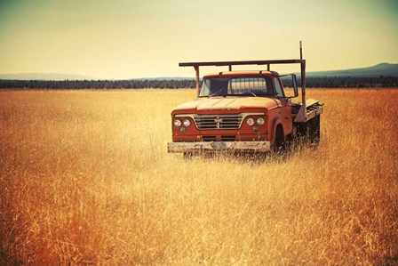 Field Truck by Lance Kuehne art print