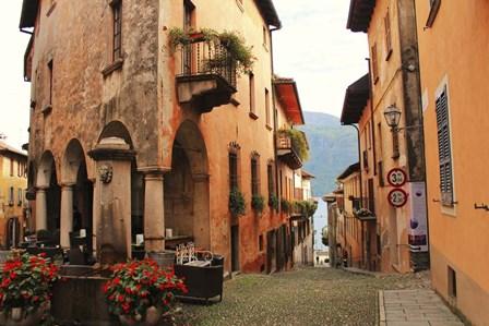 Cannobio Italy by Les Mumm art print