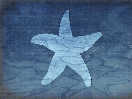 Gypsy Blue Cyanotype V6 by LightBoxJournal art print