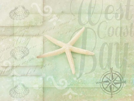 Gypsy Sea Green 3 by LightBoxJournal art print