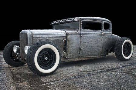 1931 Coupe Rat Rod by Lori Hutchison art print