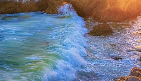 Beach Waves by Lori Hutchison art print
