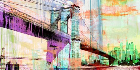 The Bridge 2.0 by Eric Chestier art print