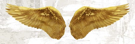 Angel Wings (Gold II) by Joannoo art print