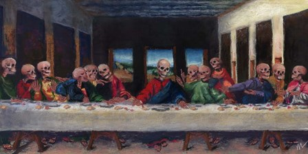 The Very Last Supper by Marie Marfia Fine Art art print