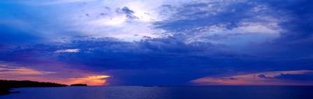 Storm over Lake Superior, Copper Harbor, Upper Peninsula, Michigan by Panoramic Images art print