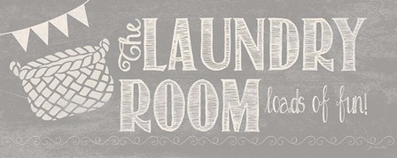 Laundry Room II by Jo Moulton art print