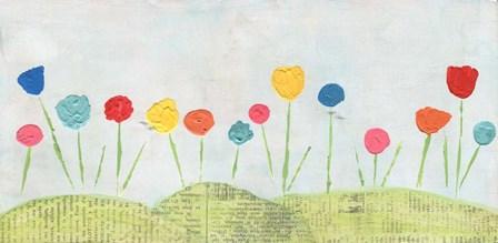 Flower Garden by Alli Rogosich art print
