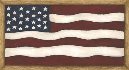 Flag by Cindy Shamp art print