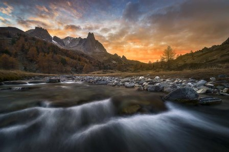 Beauty Of The French Alps by Mathieu Rivrin art print
