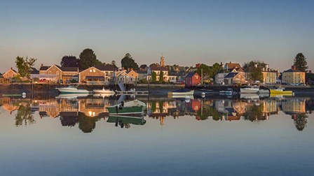 South Portsmouth Reflection by Michael Blanchette Photography art print