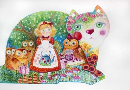 Happy Birthday by Oxana Zaika art print