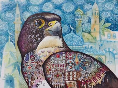 Falcon by Oxana Zaika art print