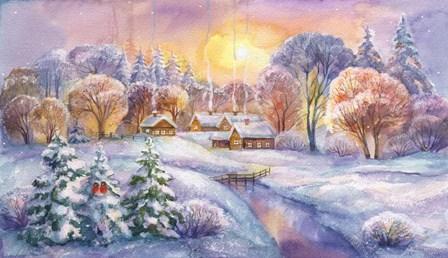 Frosty Morning by ZPR Int'l art print