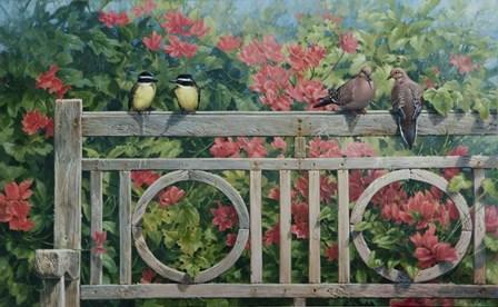 Park Bench by Michael Jackson art print