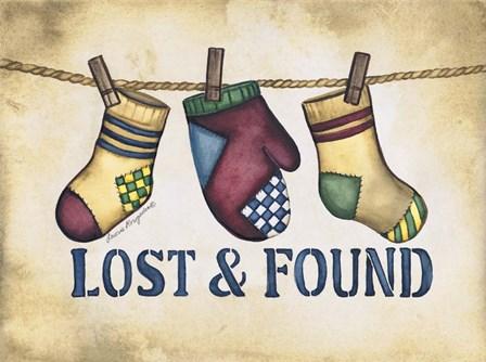Lost & Found by Laurie Korsgaden art print