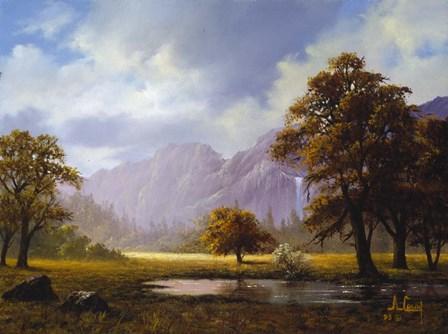 Autumn Landscape by Anthony Casay art print