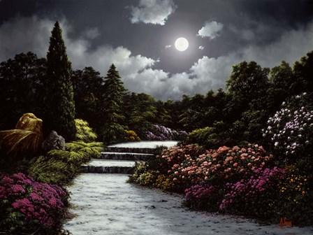 Secret Garden by Anthony Casay art print