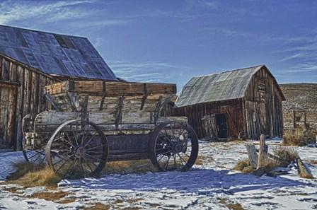Winter Snow by Robert Kaler art print