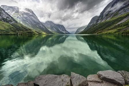 Norway- Mountain Landscape by Maciej Duczynski art print