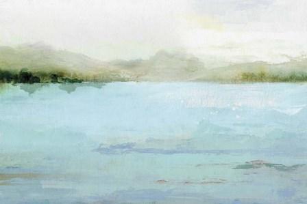 Blue Lake by Isabelle Z art print