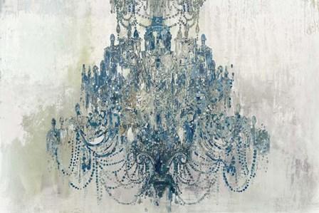 Blue Chandelier by Aimee Wilson art print