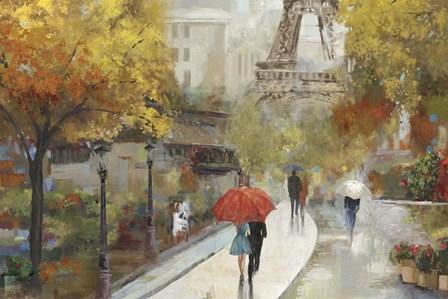 Parisian Avenue by Allison Pearce art print