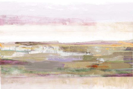 Pink Landscape by PI Galerie art print
